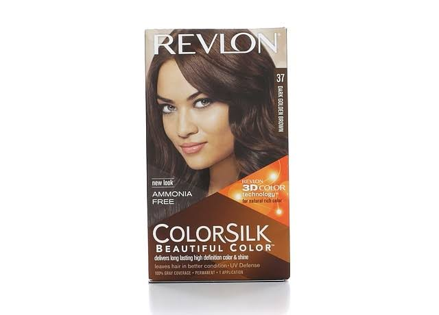 Revlon ColorSilk Beautiful Color Hair Color - 37 Dark Golden Brown