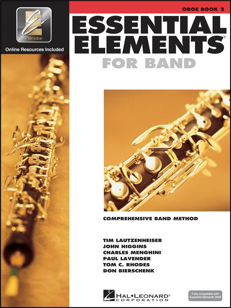 Hal Leonard Essential Elements for Band: Oboe Book 2