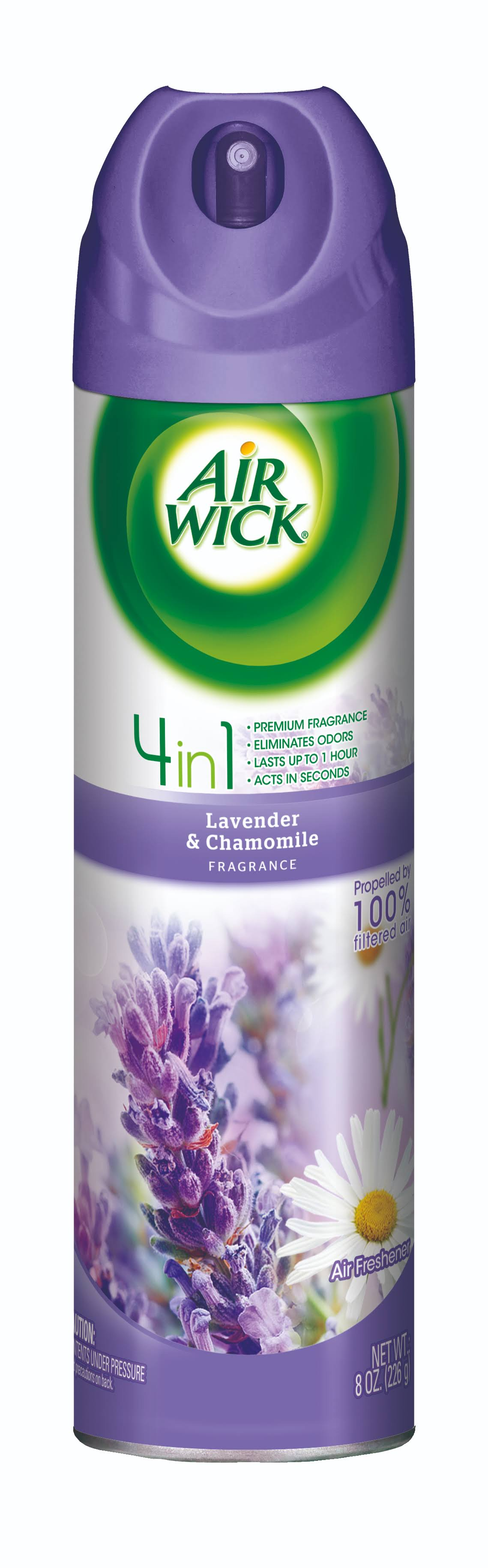 Air Wick 4 In 1 Air Freshener Spray - Lavender & Chamomile, 8oz