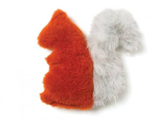 West Paw Dog Toy - Pumpkin, Sequoia Squirrel
