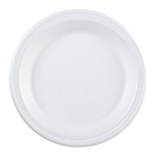 "Nicole Home Collection Foam Plate - White, 9"", 30ct"