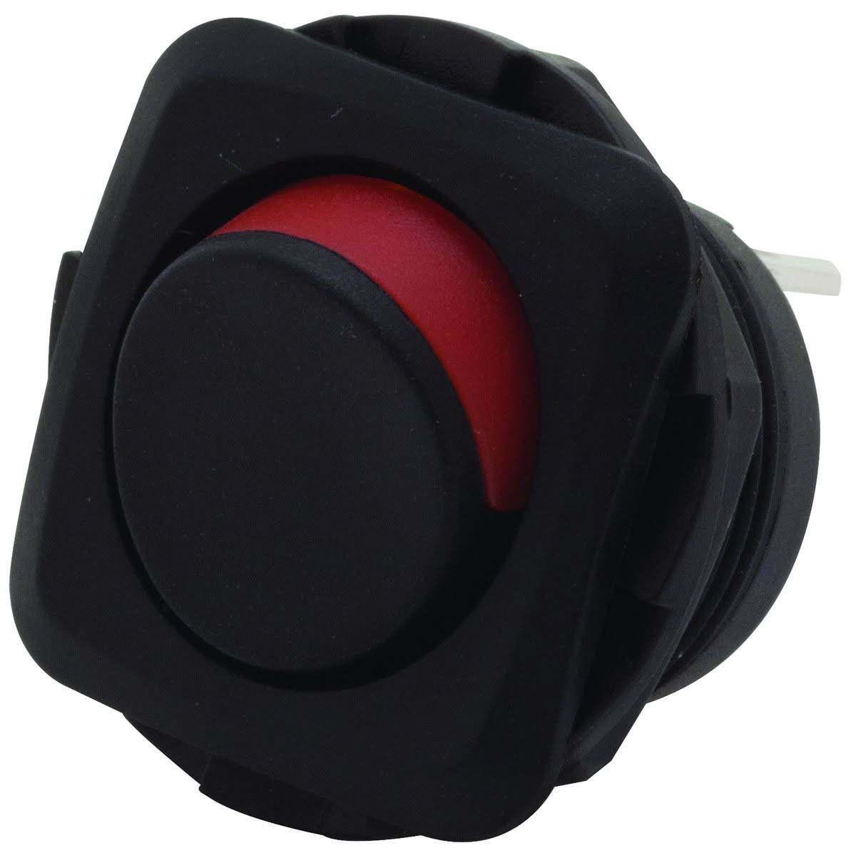 Gardner Bender Round Rocker Switch - 16amp