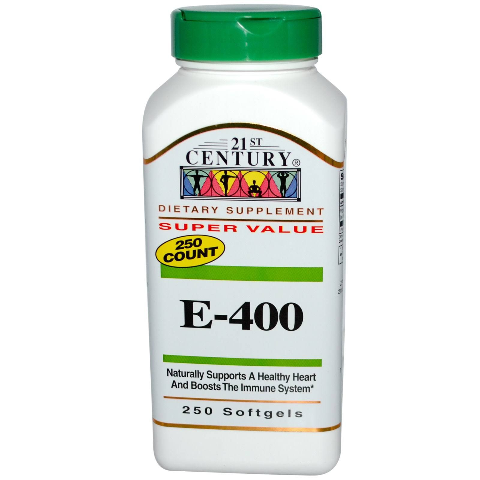 21st Century E 400 Dietary Supplement - 250ct