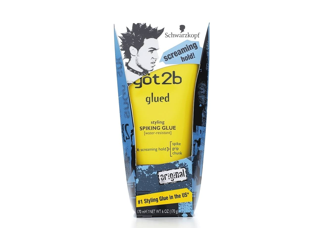 Got 2B Glued Styling Spiking Hair Gel - 6oz