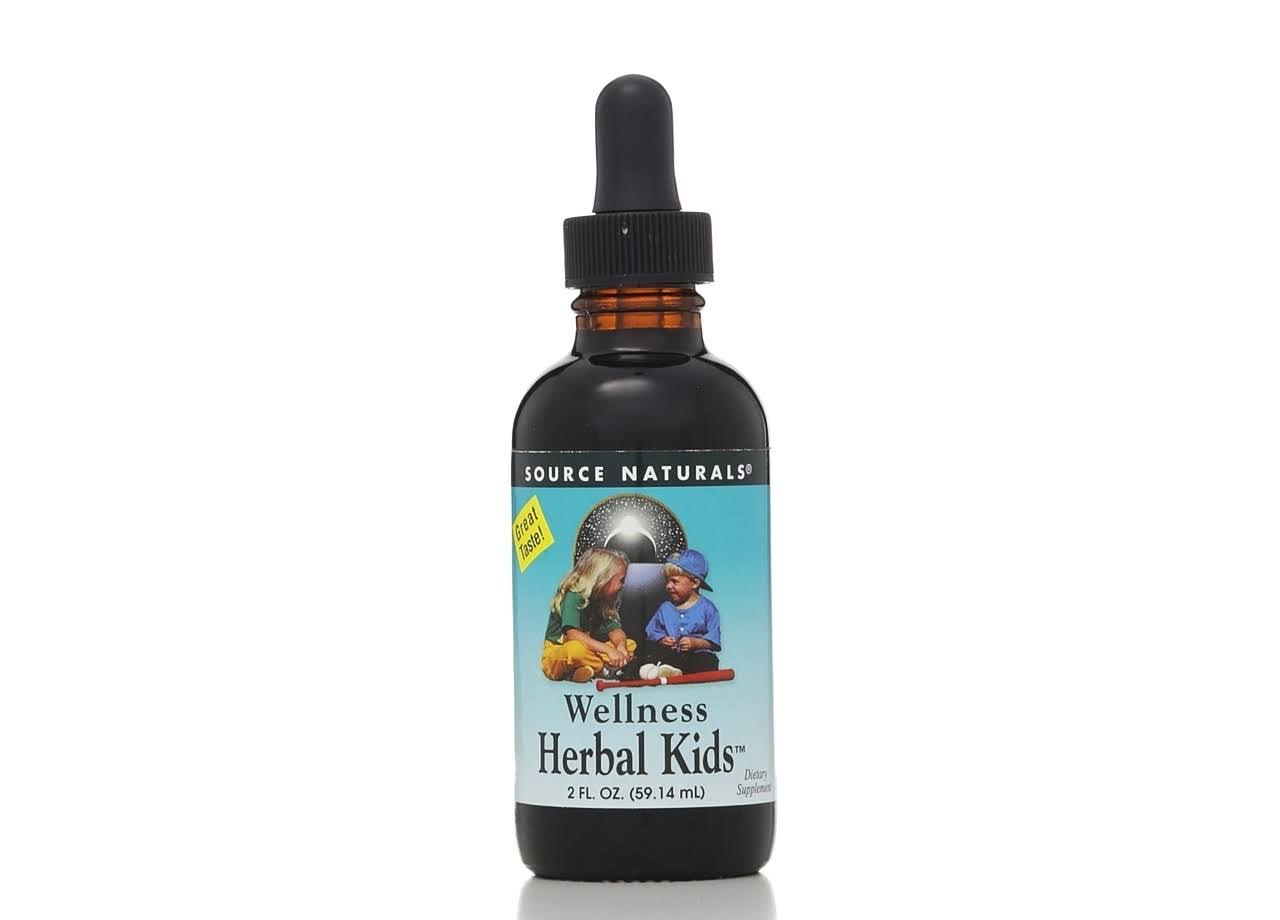 Source Naturals Wellness Herbal Kids Immune Support Liquid - 2oz