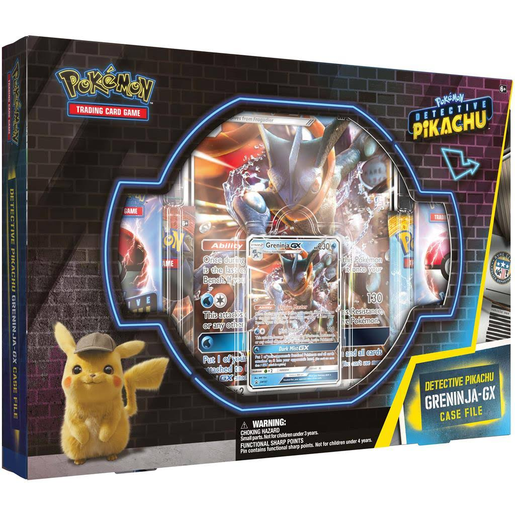 Pokemon TCG Detective Pikachu Greninja Gx Case File Game