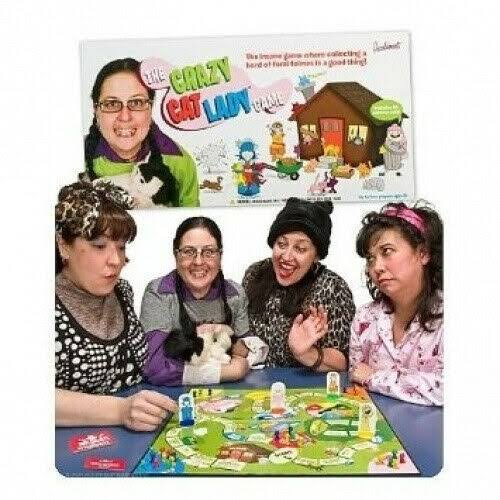 Accoutrements Crazy Cat Lady Board Game