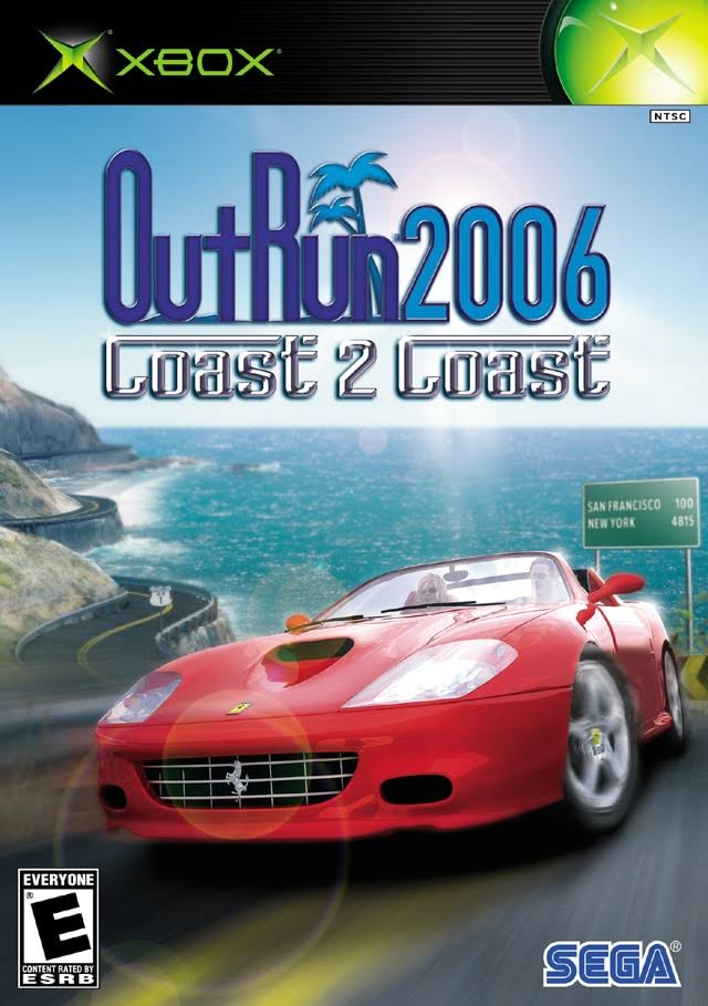 Out Run 2006 Coast 2 Coast - Microsoft Xbox