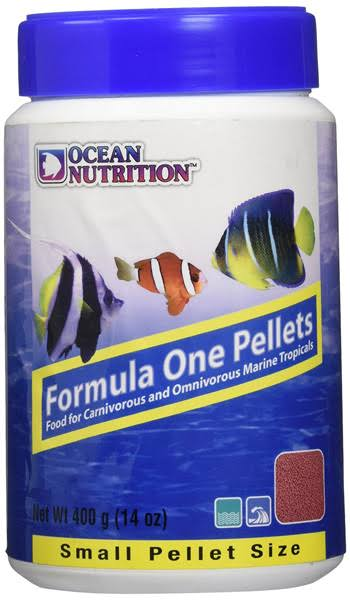 Ocean Nutrition Formula one Pellet Frozen Fish Food - Small, 400g