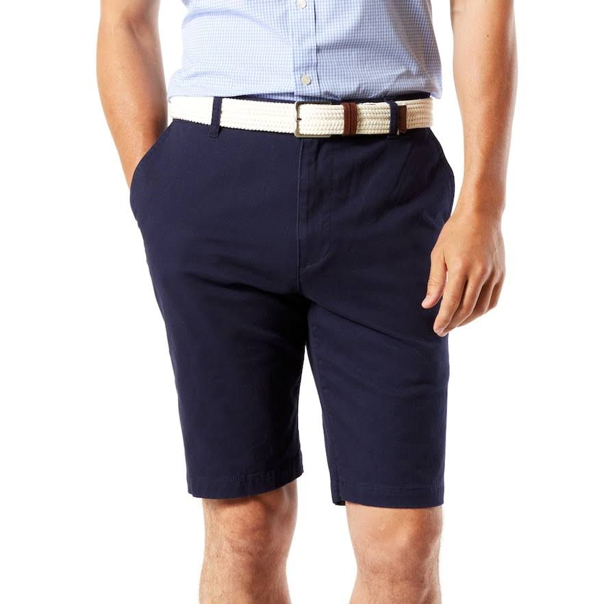 Dockers Men's Classic-Fit Perfect Shorts - Navy - Size 38