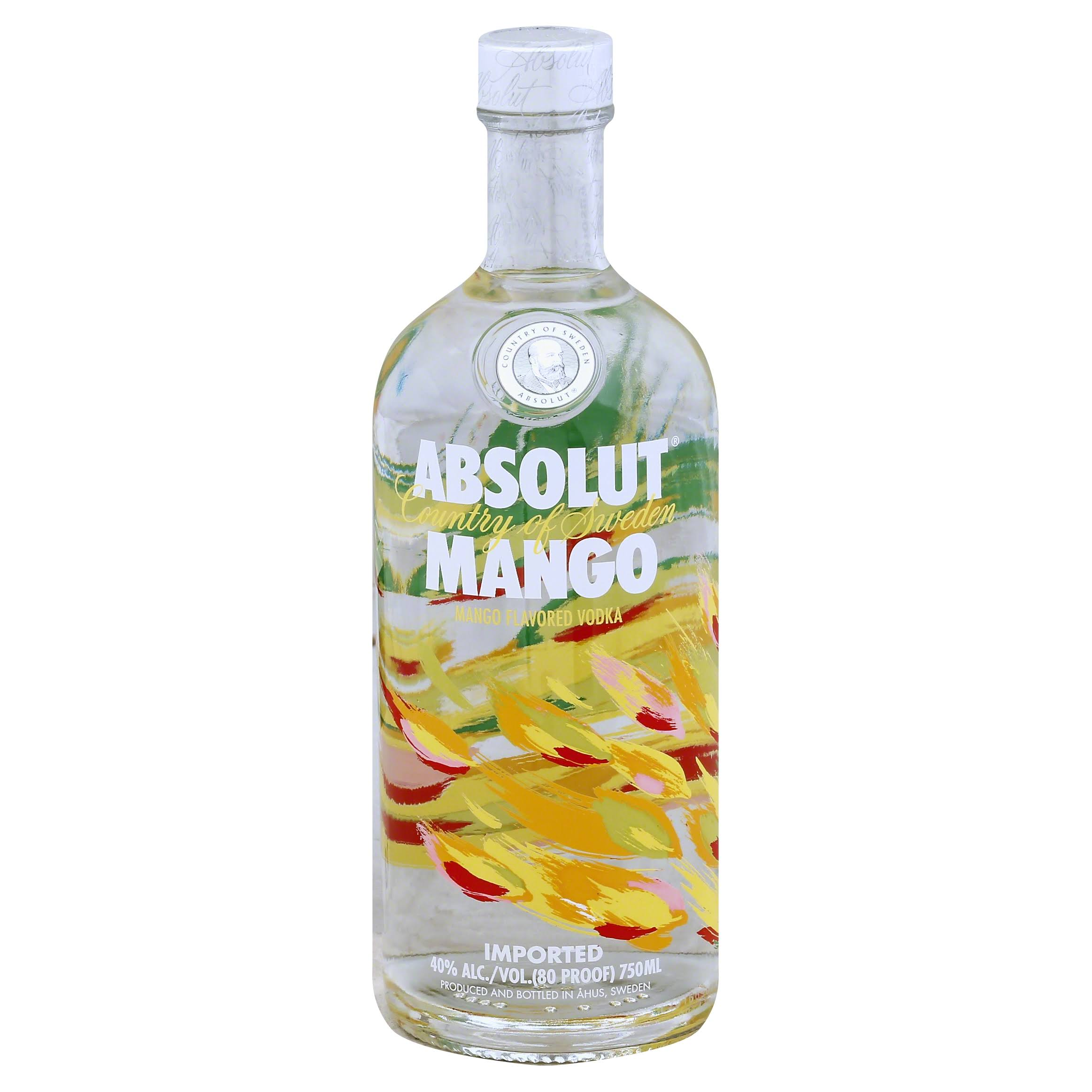 Absolut Vodka - Mango Flavored, 750ml