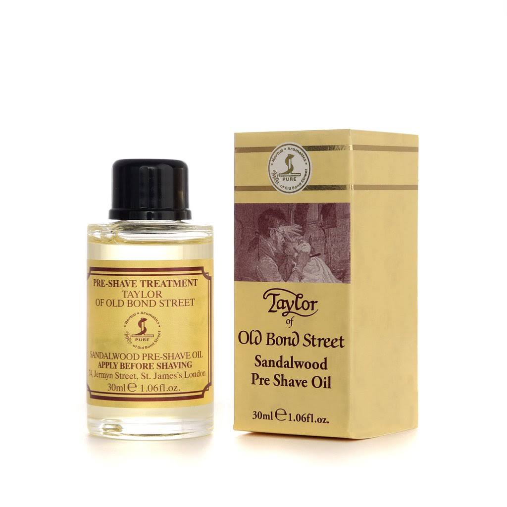 Taylor of Old Bond Street Pre Shave Oil - Sandalwood, 30ml