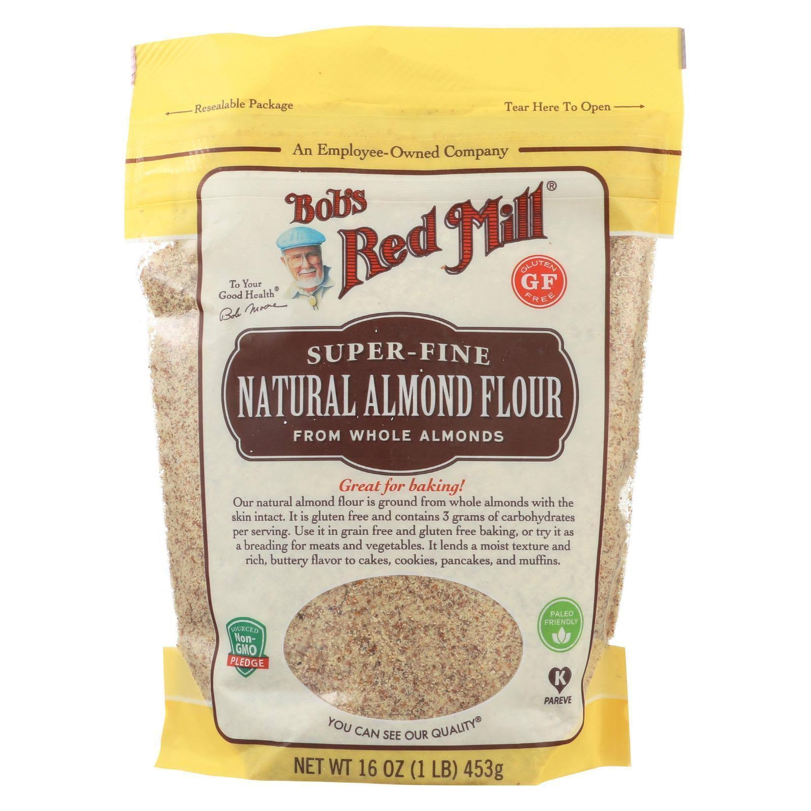 Bobs Red Mill Almond Flour, Natural - 16 oz