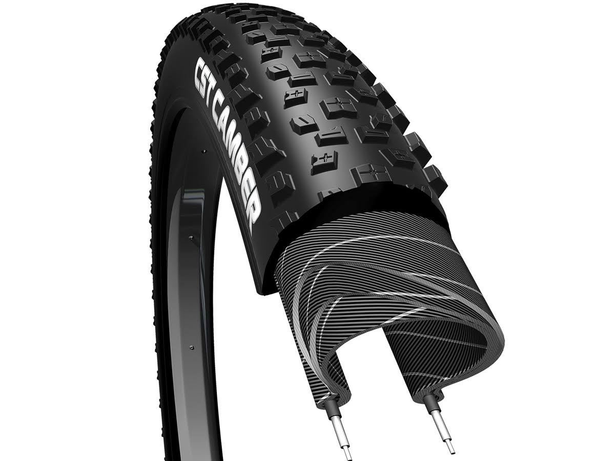 "CST Premium Camber Wire Bead Clincher Bicycle Tire - Black, 29"" X 2.25"""