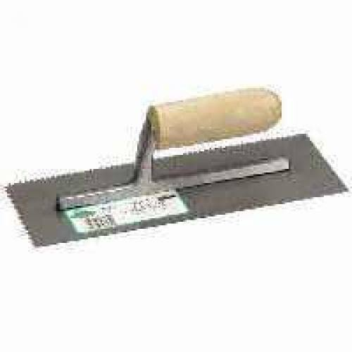 "QLT By Marshalltown 972 Trowel - 11""x4-1/2"", with Wood Handle"