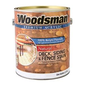 True Value MFG WNC5-GL Acrylic Deck - Siding & Fence Stain, Natural Cedar, 1gal