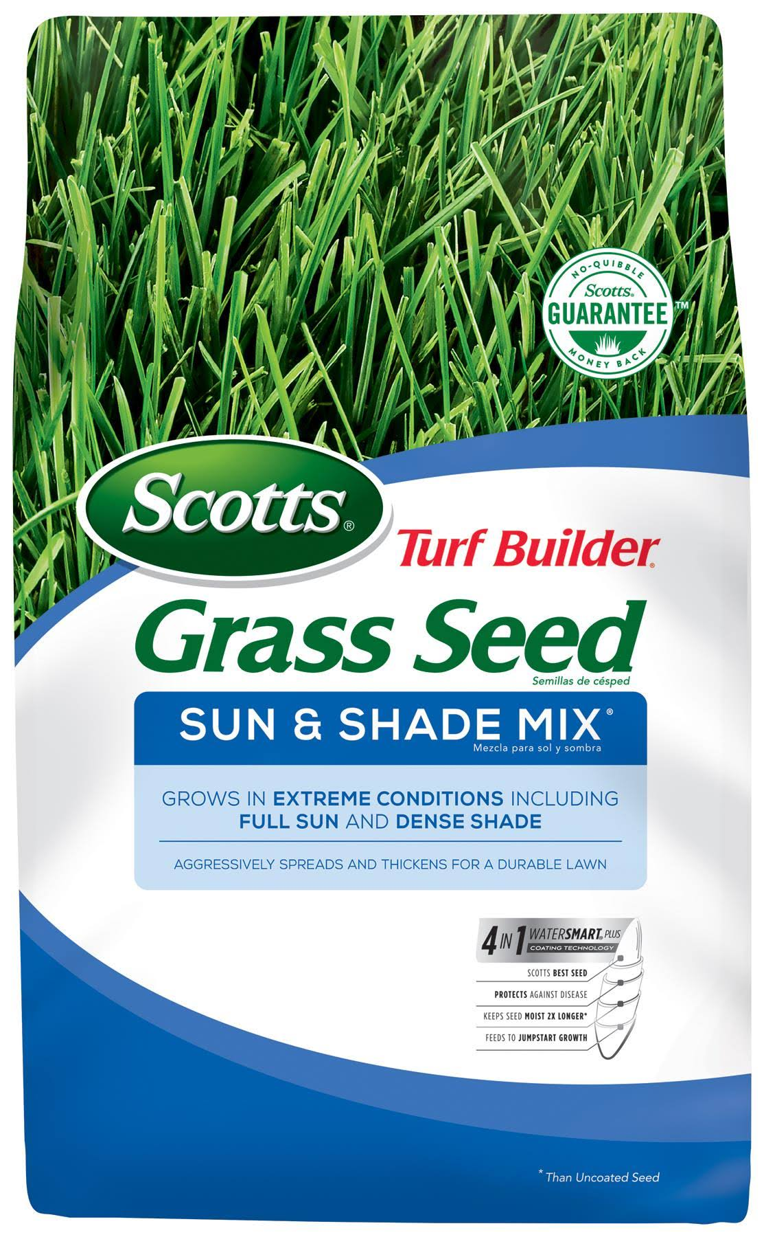Scotts Turf Builder Sun & Shade Mix Grass Seed - 1.36kg