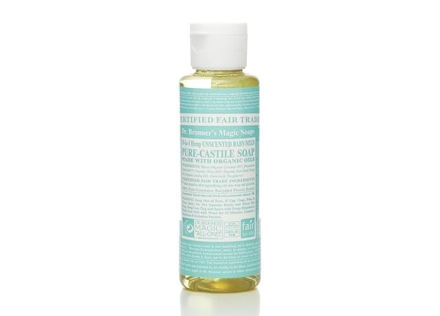 Dr. Bronner's Pure-Castile Liquid Soap - Baby Unscented, 4oz