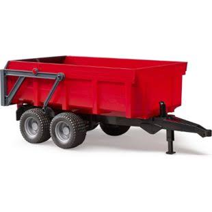 Bruder 02211 - Tipping Trailer - Red