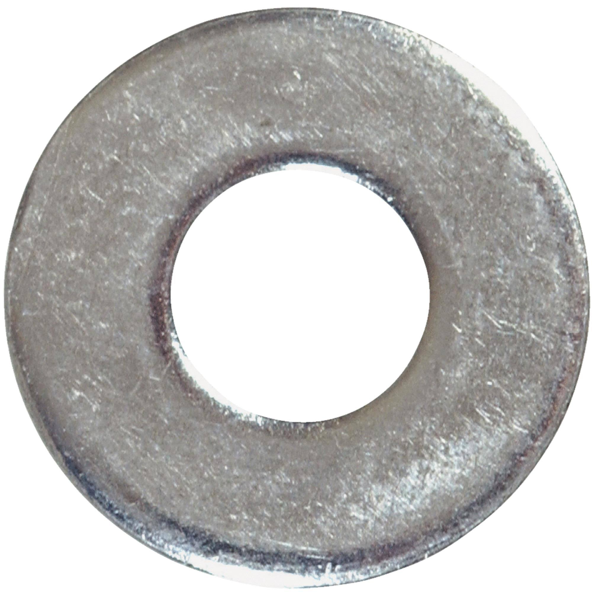 The Hillman Group Standard Flat Washers - Zinc Plated, #12, 100ct