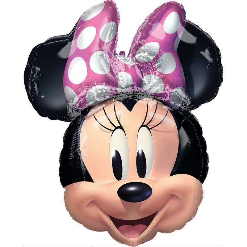 Minnie Mouse Forever Head Balloon 26 inch