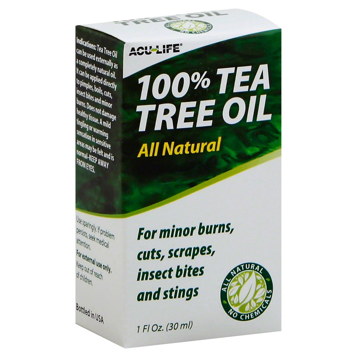 Acu-Life 100% Tea Tree Oil - 30ml