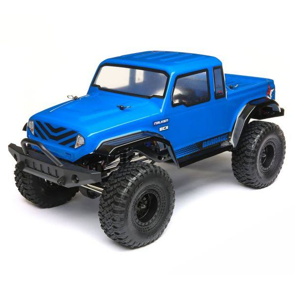 "ECX Barrage GEN2 4WD Scale RTR Crawler - 1.55"" 1/12 Scale, Blue"