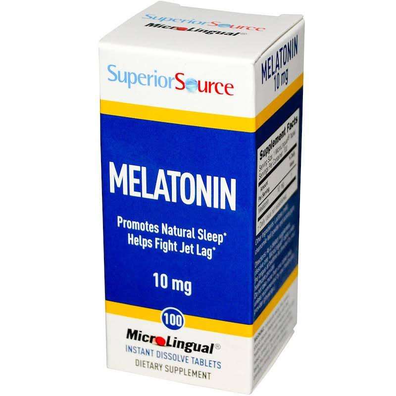 Superior Source Melatonin Nutritional Supplements