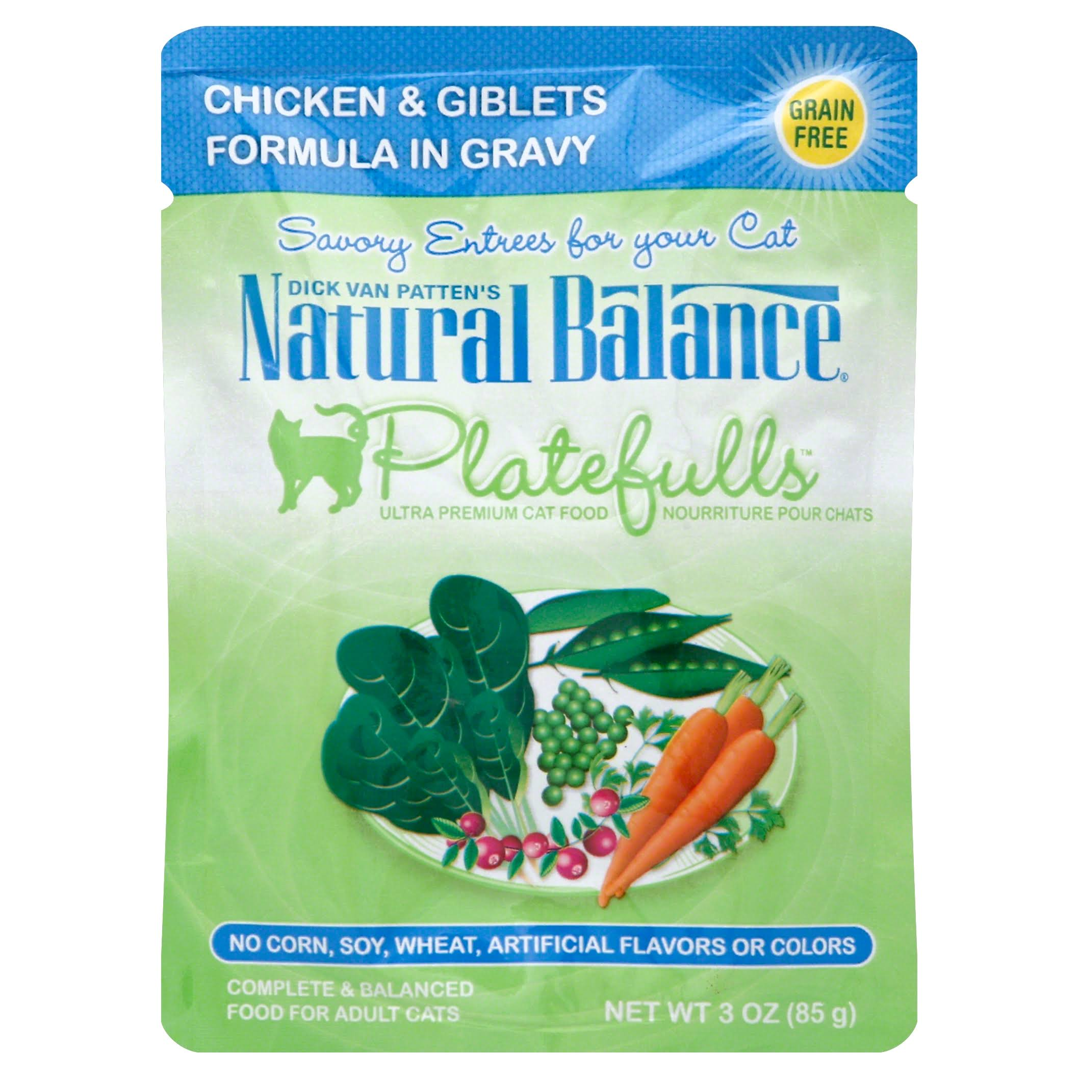 Platefulls Chicken & Giblets Adult Cat Food