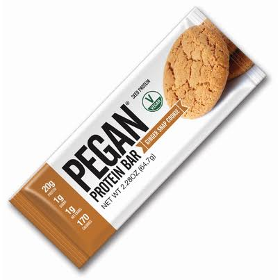 Julian Bakery Pegan Protein Bar - Ginger Snap