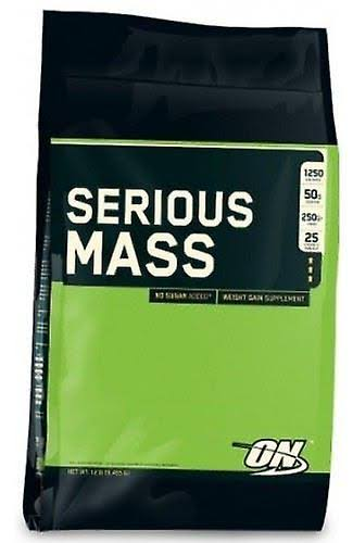 Optimum Nutrition Serious Mass (5.45kg / Cookies & Cream)
