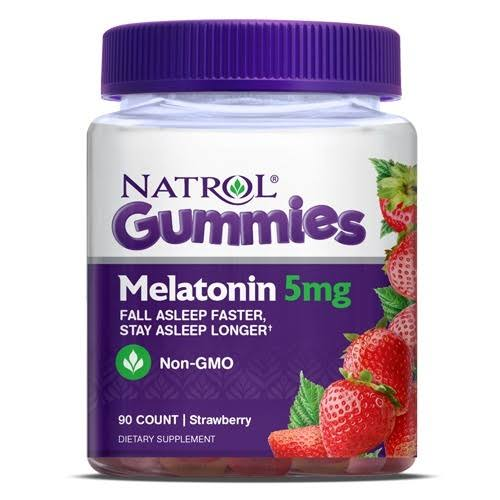 Natrol Gummies Melatonin Supplement - 90ct