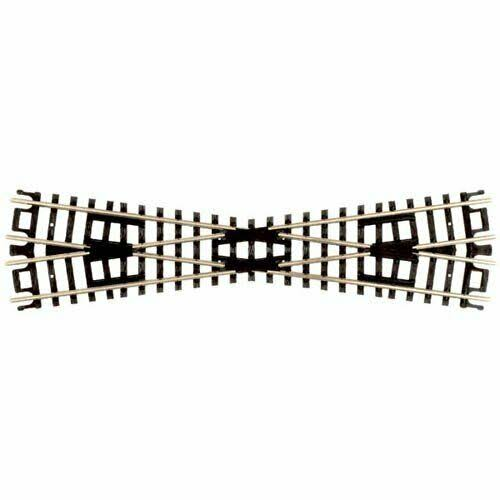 Atlas N Scale Train Tracks Code 80 Nickel Silver 15 Degree Crossing