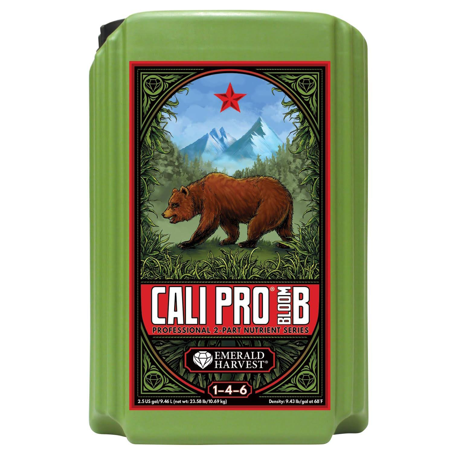 Emerald Harvest Cali Pro Bloom B Liquid Fertilizer - 2.5gal