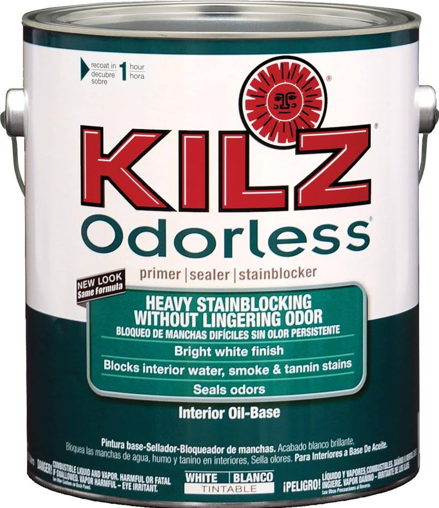 Kilz Odorless Primer Oil Base Interior - White, 1gal