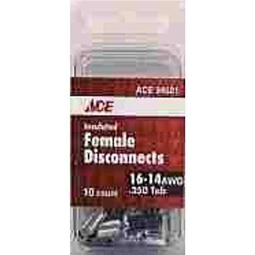 Ace Blue Insulated Female Disconnect - 10pk