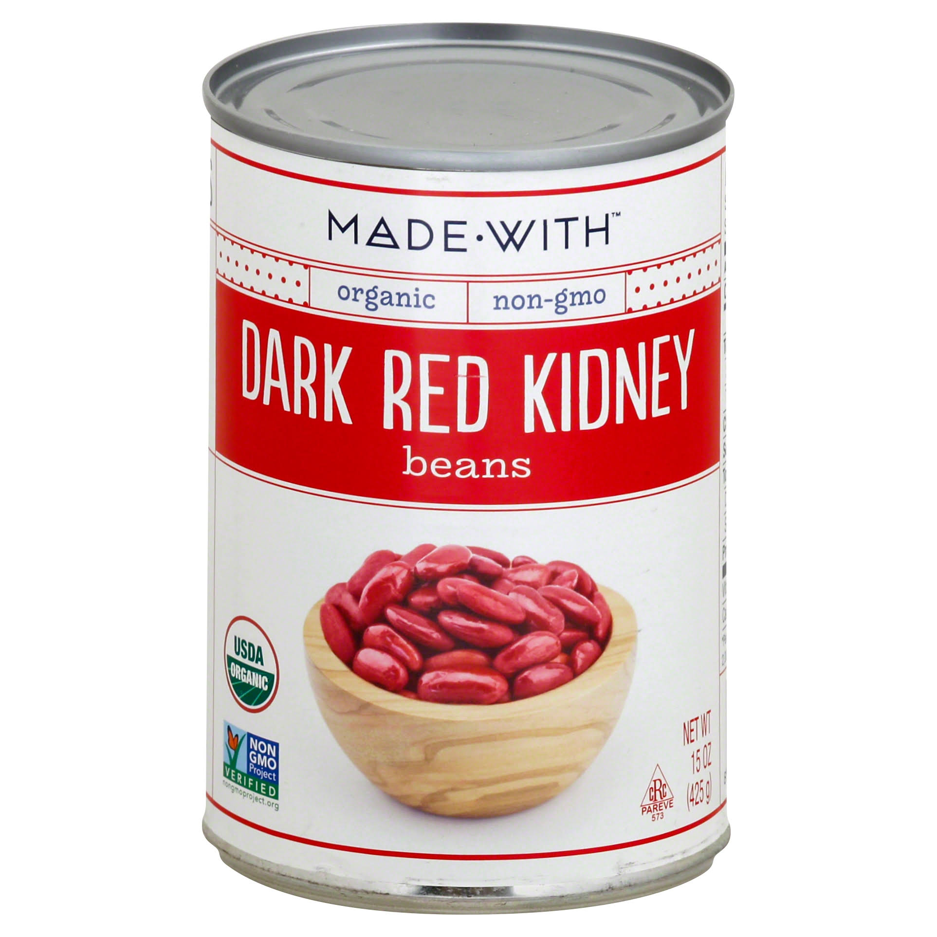 Made WIth Dark Red Kidney Beans - 15oz