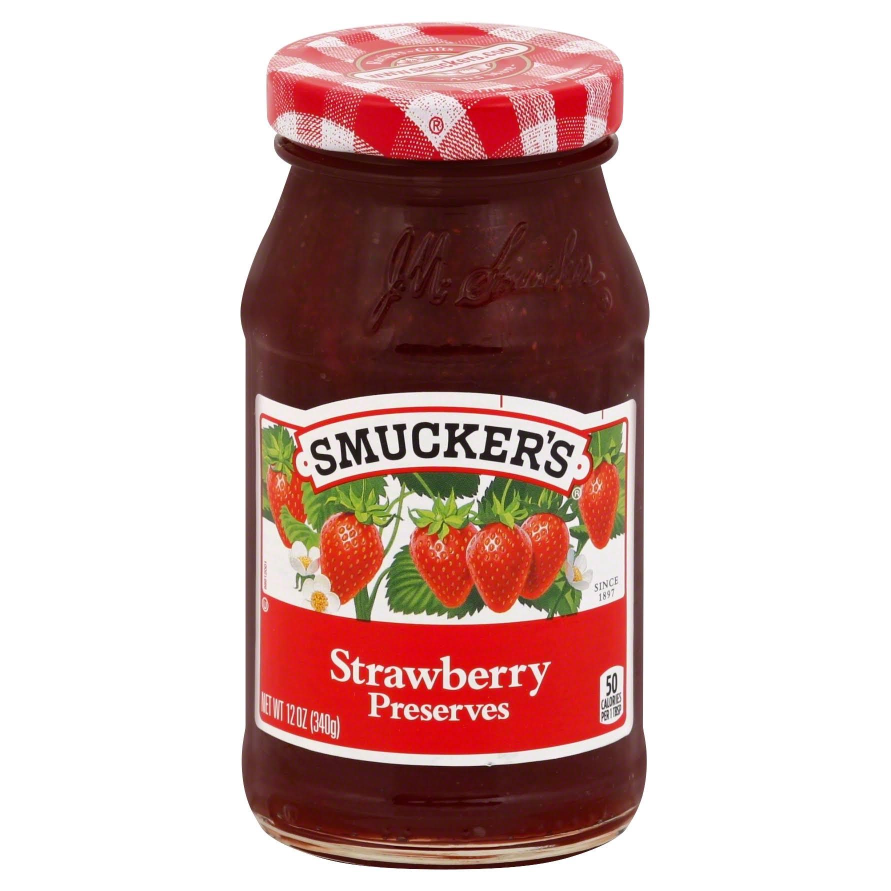 Smucker's Spread - Strawberry Preserves, 12oz