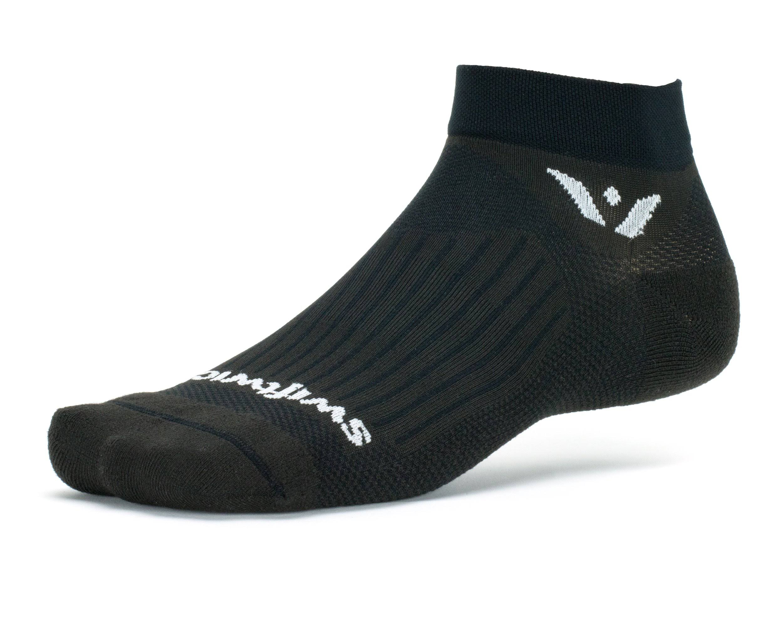 Swiftwick Aspire One Socks - Medium (Pewter)