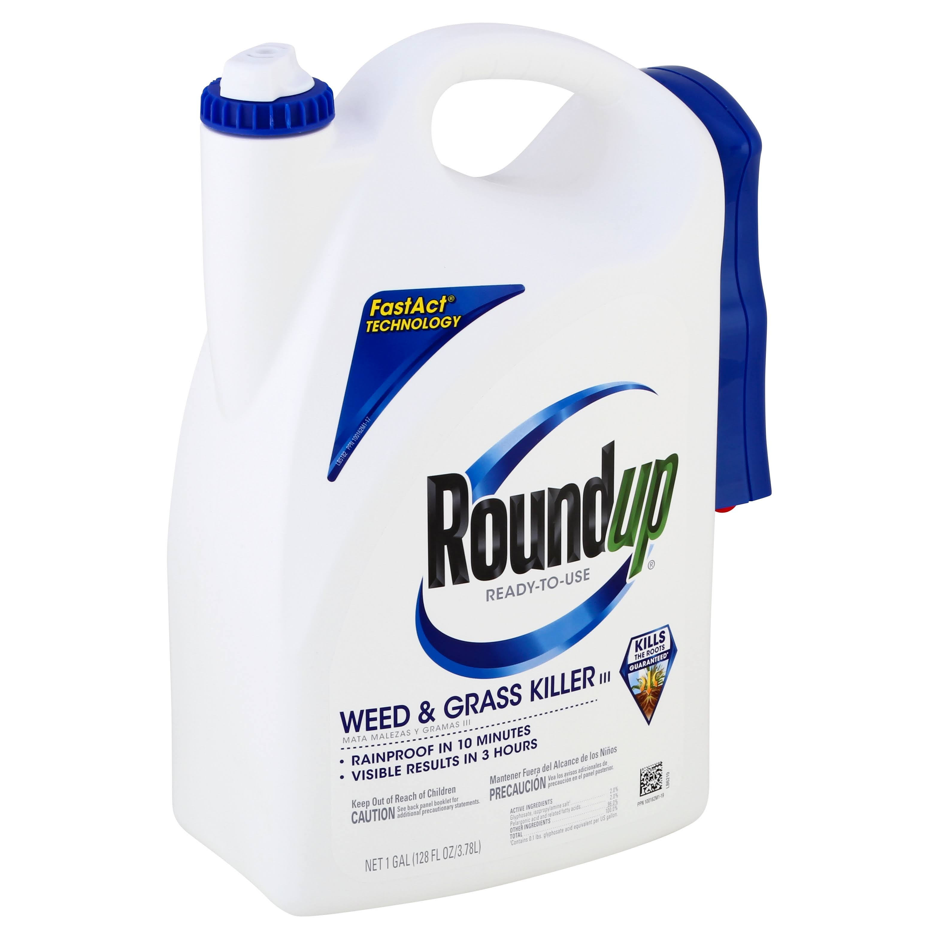 Roundup Ready-to-Use Plus Weed & Grass Killer - 1 Gallon