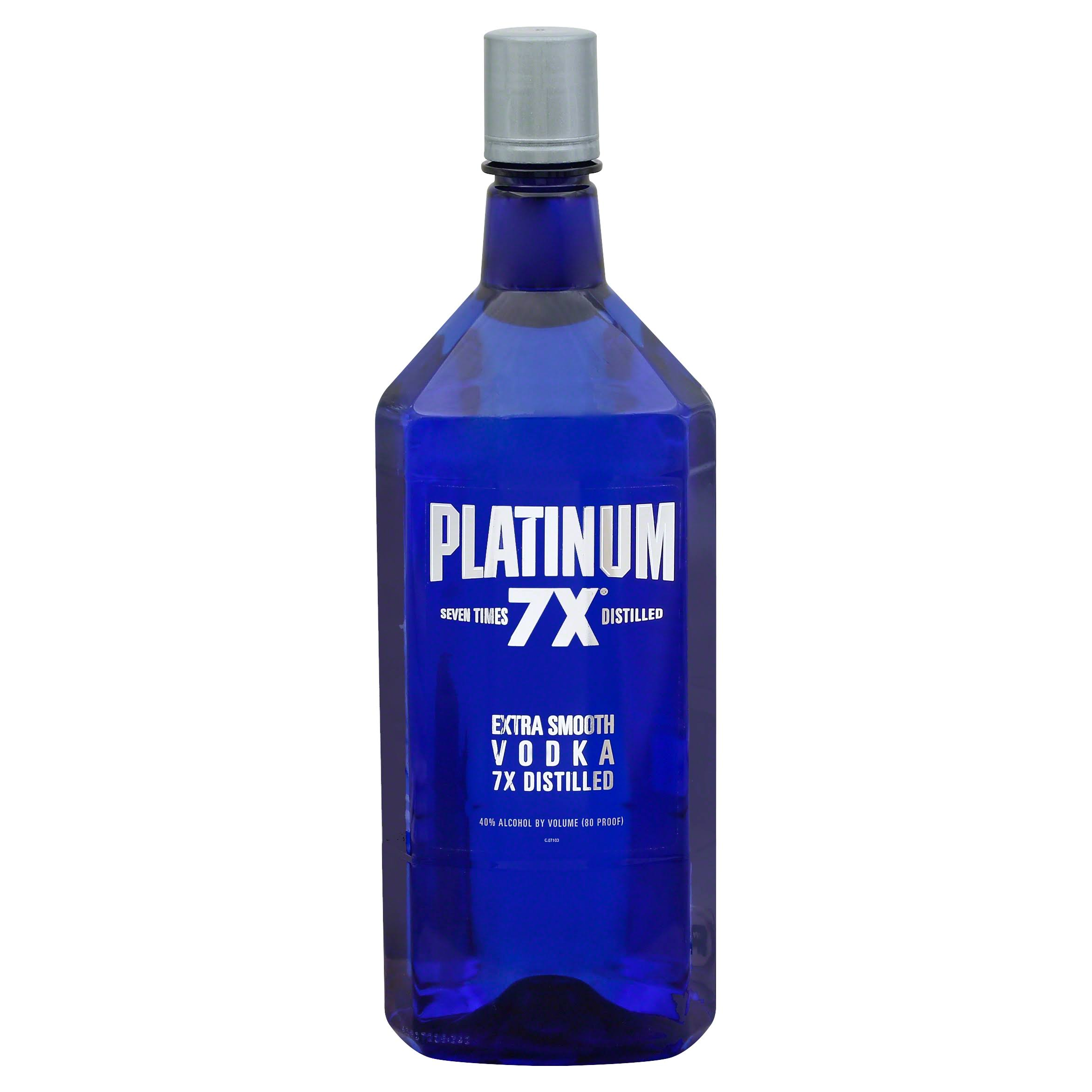 Platinum 7X Vodka - 1.75L