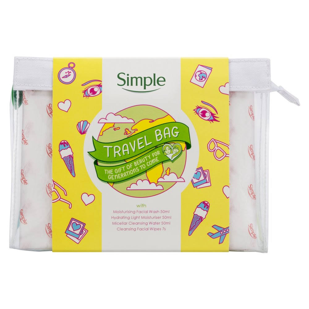 Simple Travel Kit Gift Set - 6pcs