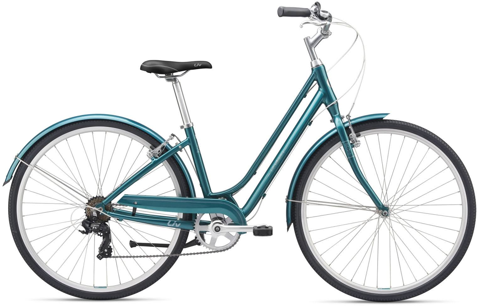 Liv Flourish 3 2019 Hybrid Bike Teal