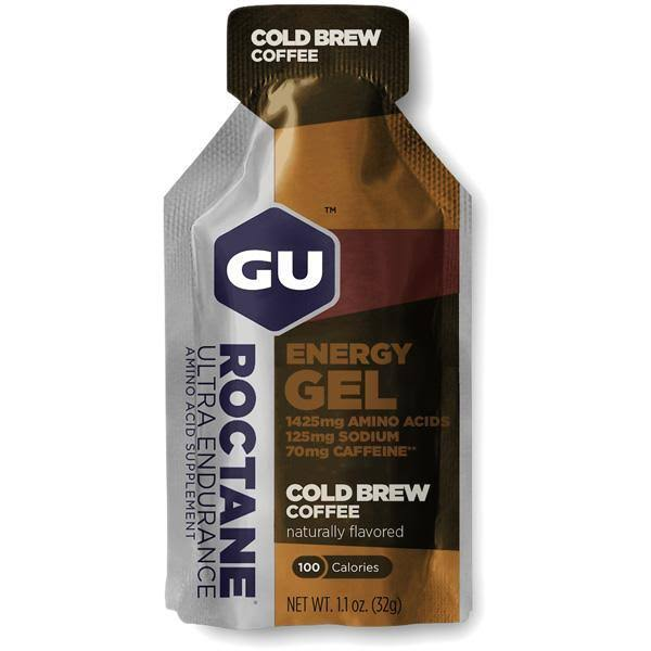 GU Roctane Energy Gel - Cold Brew Coffee - Single
