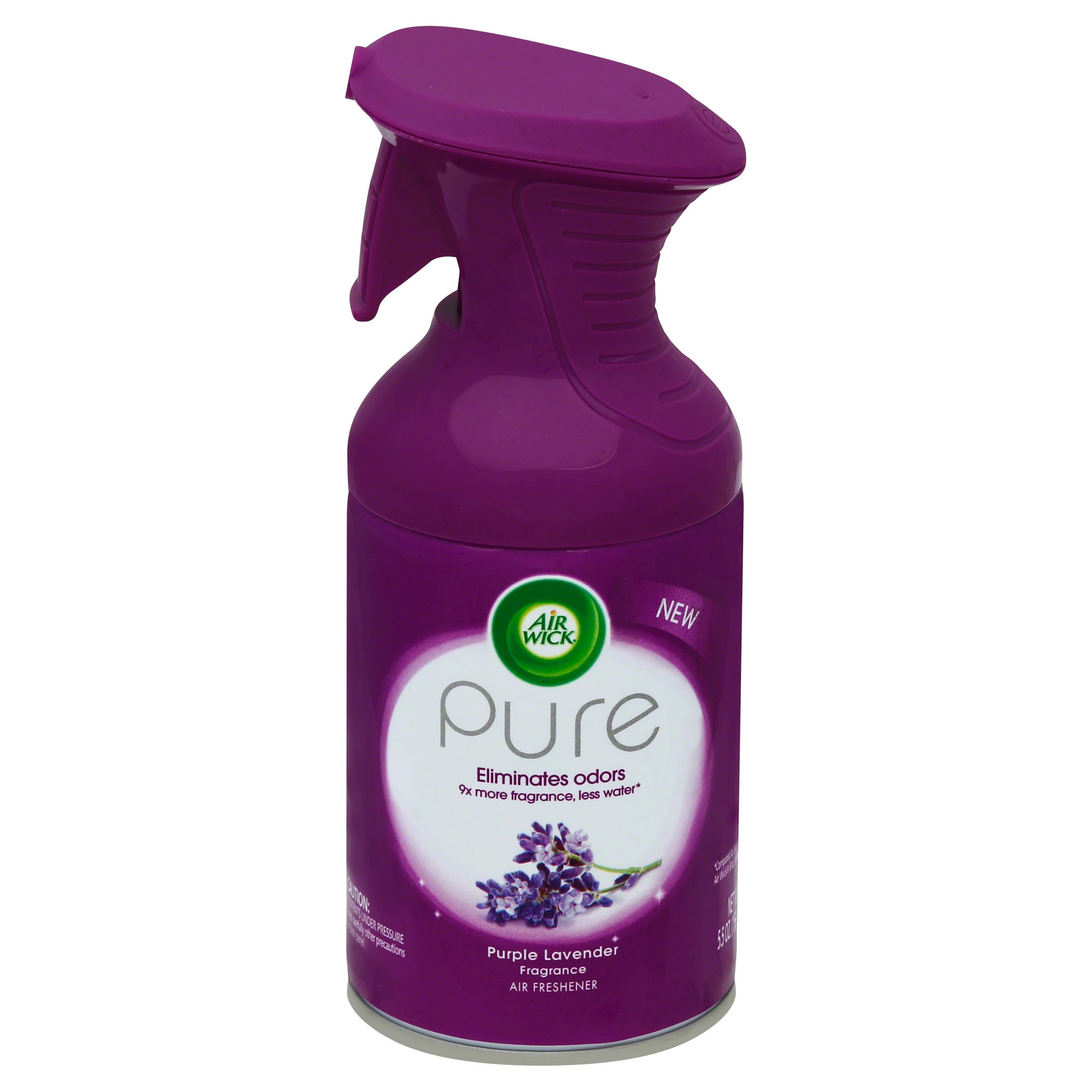 Air Wick Pure Premium Air Freshener Spray - Purple Lavender, 5.5oz