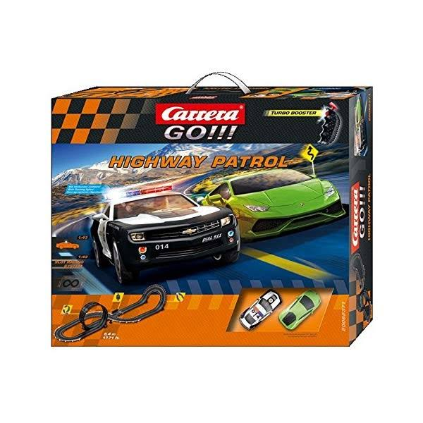 Carrera Go Highway Patrol Race Slot Car Play Set