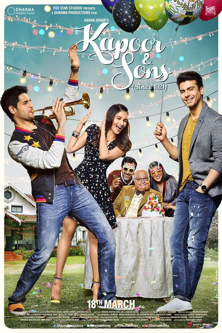 Kapoor and Sons Full Movie 720p Free Download 2016 BluRay