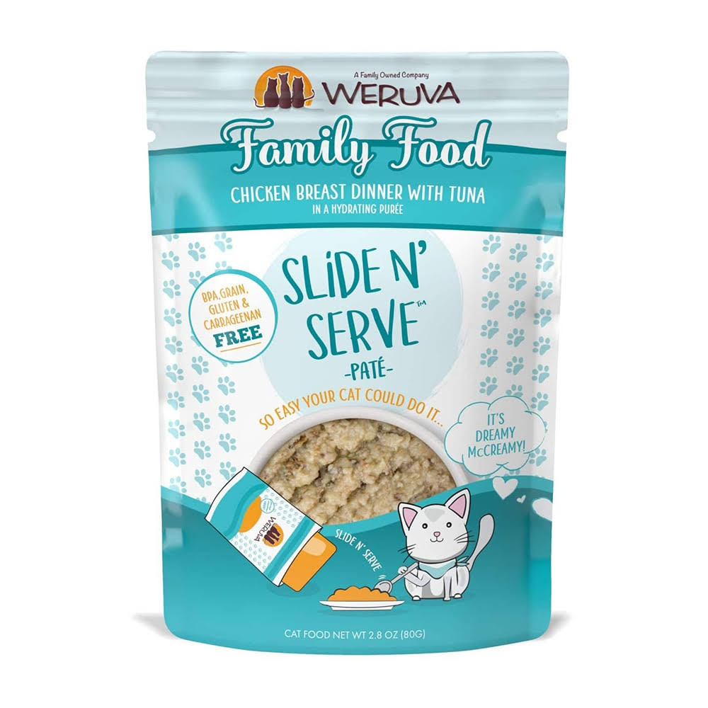 Weruva Cat Food Family Food 2.8 oz 12 Count