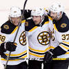 Bruins hang on for win in Game 1