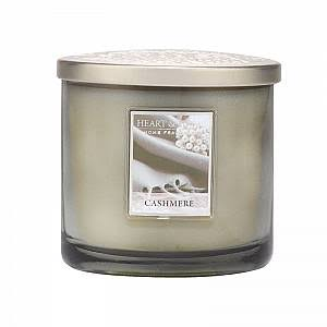 Heart & Home Scented 2 Wick Ellipse Candle - Cashmere